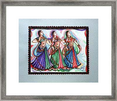 Classical Dance1 Framed Print by Harsh Malik