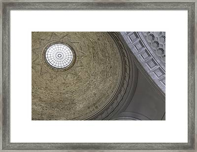 Classical Dome With Oculus Framed Print by Lynn Palmer