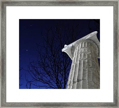 Classical Evening Framed Print by Stellina Giannitsi