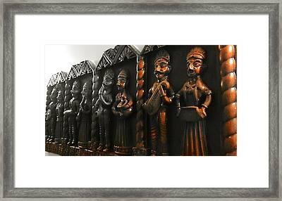 Classical Folk Framed Print by Prashant Ambastha