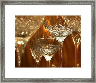 Classical Glass Framed Print by Bill Pevlor