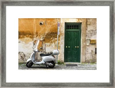 Classical Italy Framed Print by Mustafa Otyakmaz