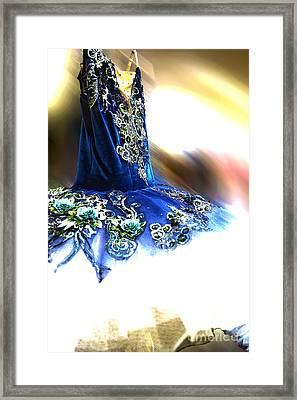 Classically Costumed V Framed Print