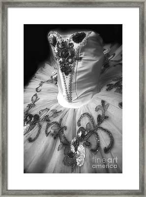 Classically Costumed X Monochrome Framed Print
