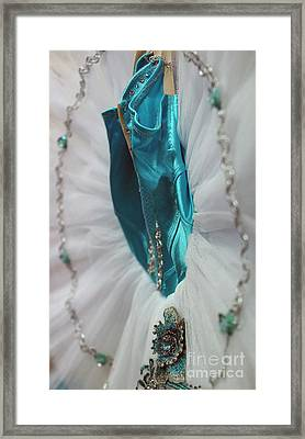 Classically Costumed Xviii Framed Print by Cassandra Buckley