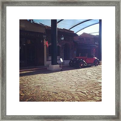 #classics #istanbul #40's Framed Print
