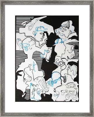 Classmates Framed Print by Zuzana Vass