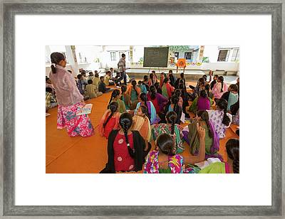 Classroom Framed Print by Ashley Cooper