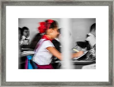 Classroom Framed Print