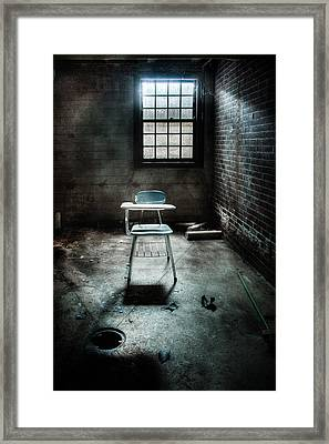 Classroom - School - Class For One Framed Print by Gary Heller