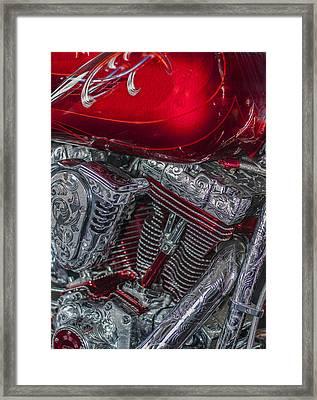Classy Harley Davidson Framed Print