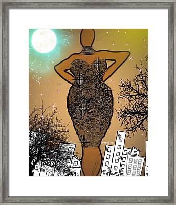 Classychic Framed Print by Romaine Head