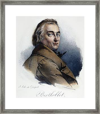 Claude Berthollet (1748-1822) Framed Print by Granger