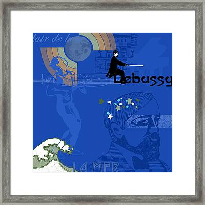 Claude Debussy Framed Print