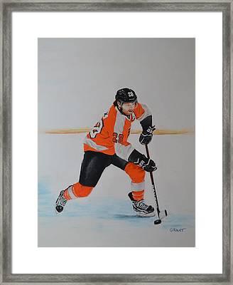 Claude Giroux Philadelphia Flyer Framed Print
