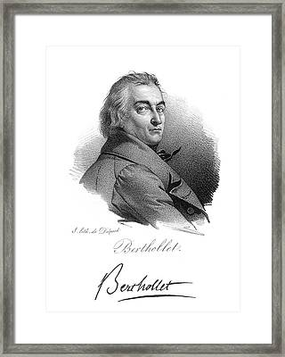 Claude Louis Berthollet (1748-1822) Framed Print by Granger