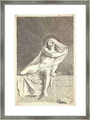 Claude Mellan French, 1598 - 1688. The Resurrection Framed Print