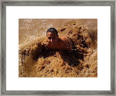 Claudio In Hawaii Framed Print