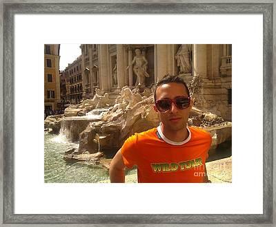 Claudio In Rome Framed Print