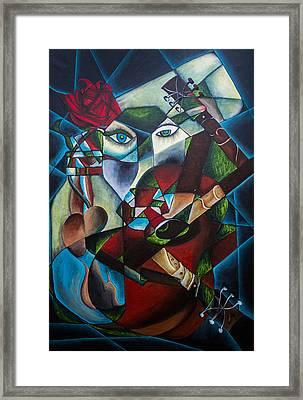 Claustrophobia Framed Print by Aleksandar Tesanovic