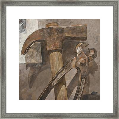 Clawhammer 2 Framed Print by Anke Classen
