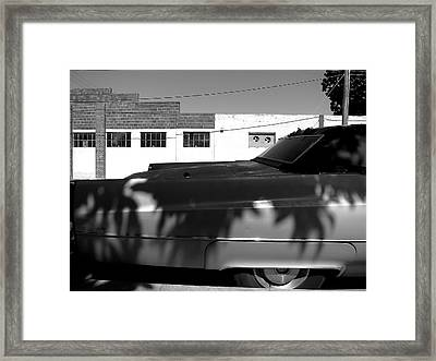 Claws On The Coupe Deville Framed Print