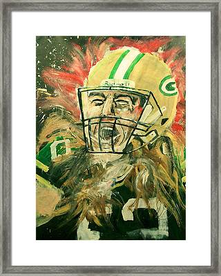 Clay Matthews Framed Print by Dan Engh