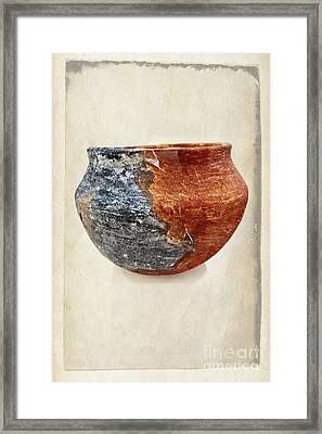 Clay Pottery  - Fine Art Photography Framed Print