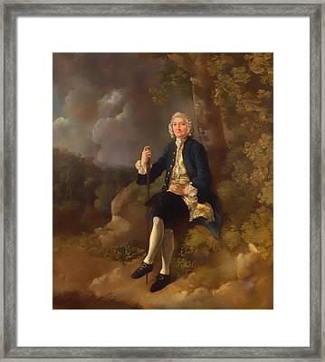 Clayton Jones Framed Print