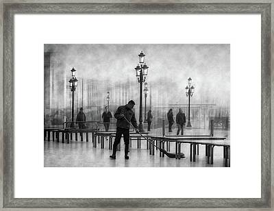 Clean City 4 Framed Print