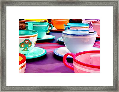 Framed Print featuring the photograph Clean Cup Clean Cup Move Down by Benjamin Yeager