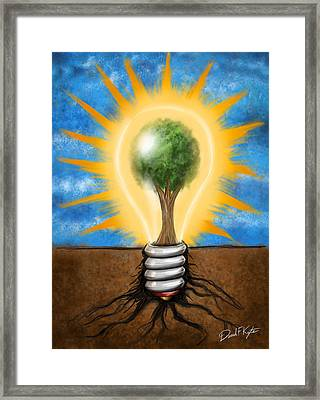 Clean Energy Framed Print by David Kyte