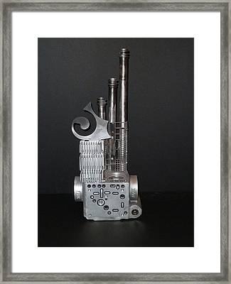 Clean Living Framed Print by April Davis