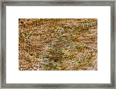 Clean Stream 2 - Featured 3 Framed Print