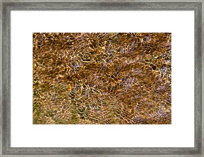 Clean Stream 3 - Featured 3 Framed Print
