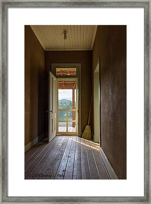 Framed Print featuring the photograph Clean Sweep by Beverly Parks