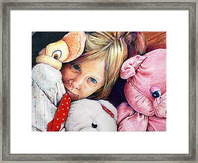 Clean Your Room Framed Print