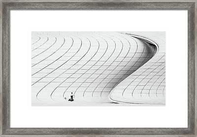 Cleaner Framed Print