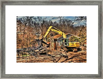 Cleanup Framed Print