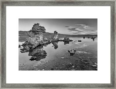 Clear And Calm II Framed Print by Jon Glaser