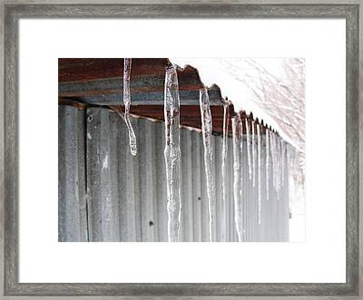 Framed Print featuring the photograph Clear As Glass by Tiffany Erdman
