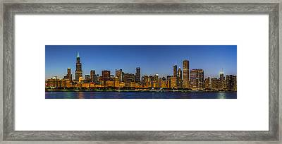 Framed Print featuring the photograph Clear Blue Sky by Sebastian Musial