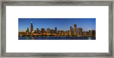 Clear Blue Sky Framed Print by Sebastian Musial
