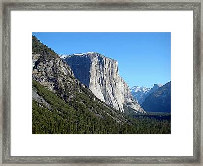 Framed Print featuring the photograph Eternal Yosemite by Walter Fahmy