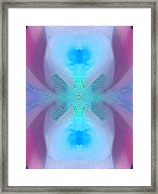 Clear Channel Of Communication Framed Print