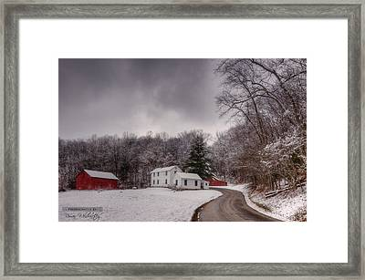 Clear Creek Ranger Station Framed Print