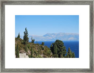 Framed Print featuring the photograph Clear Day by George Katechis