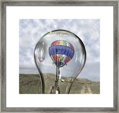 Clear Idea Framed Print by Betsy Knapp