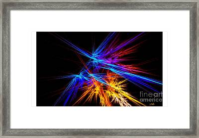 Clear Purpose Framed Print by Steed Edwards