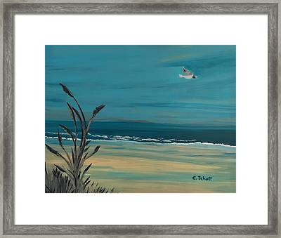 Clear Skies Framed Print